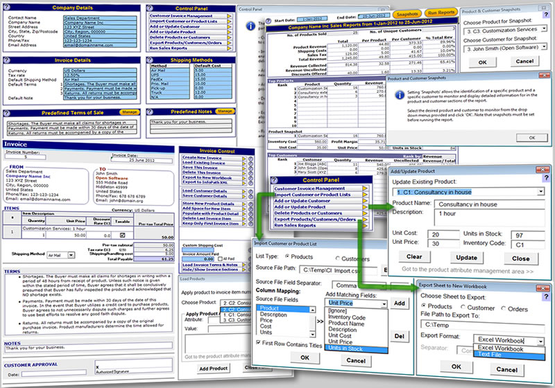 Excel Invoice Template | XL Business Tools