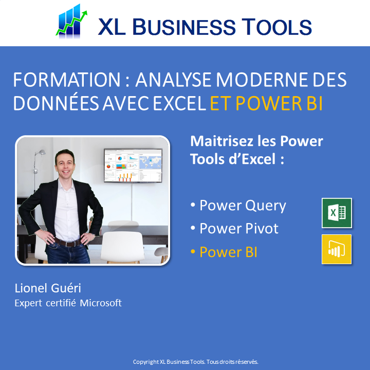 Formation Excel Power Tools - Analyser vos données